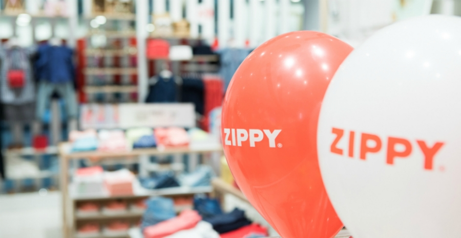 Zippy reabre no NorteShopping