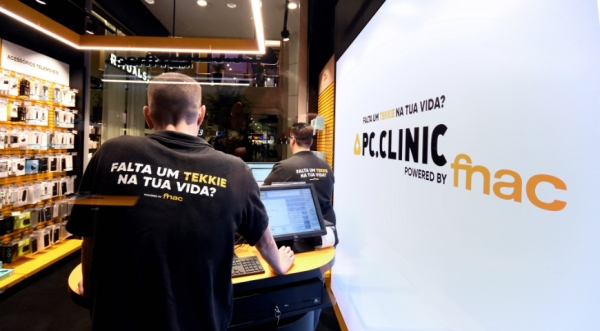 "PC Clinic coloca menção ""Powered by FNAC"" no nome"