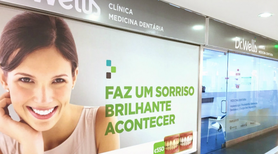 Sonae abre clínica Dr. Well's na Amadora